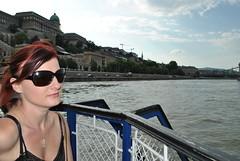 On the River Danube (LacaGyenes) Tags: summer portrait river boat ship budapest duna danube foly folyam