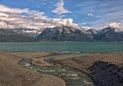 Seward Scene (Philip Kuntz) Tags: alaska creek bay seward resurrectionbay chugachmountains lowellcreek