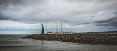 Spirit Of The Sea, Devonport (paulledger81) Tags: tasmania mersey devonport spiritofthesea beach rocks waterfront australia statue trident