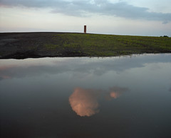 (laurentgaudart) Tags: film photography essen nrw monolith ruhr terril mamiya7ii bramme schurenbachhalde altenessen ruhgebiet spoiltip bergehalde pitheap laurentgaudart