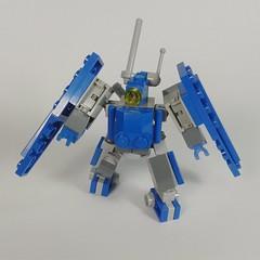 Blue Wall Lockon (Vitor O S Faria) Tags: lego mecha mfz mobileframe mf0 mobileframezero