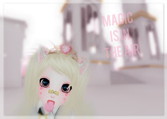 Magic (kaiabutton) Tags: secondlife sl anime pastel pink event crystal heart