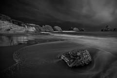 Cerria, Cantabria (martin zalba) Tags: beach night noche spain playa nocturna cantabria cerria