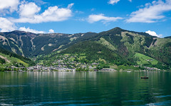 Zell am See (mthavs) Tags: mountain lake mountains berg landscape austria see landscapes sterreich europa europe berge landschaft zell