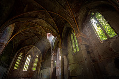 old church in the light (Goddl) Tags: road camera old trip school windows light urban color art abandoned rotting beautiful beauty architecture photoshop germany dayofthedead deutschland death photo still interesting nikon europe die photographer shadows silent darkness dynamic decay live empty exploring awesome explorer ruin corridor atmosphere thueringen thuringia best adventure forgotten vacant processing rusting waste exploration gym schloss derelict labyrinth retouching decayed burg verlassen castell buillding urbex disappear verfall rework ahnen photomatix interetingness fision goddl