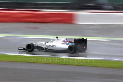 Felipe Massa in the 2016 British Grand Prix