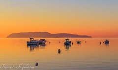 Boats (Francesco Impellizzeri) Tags: sunset water reflections landscape ngc sicilia trapani