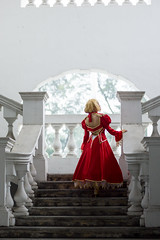 Saber Nero (bdrc) Tags: asdgraphy fate extra grand order saber nero claire seremban staircase sony a6000 nikkor 50mm f14d manual prime