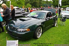 Ford Mustang GT Bullitt 2001 (Trucks and nature) Tags: 2001 green ford car modern dark movie cool muscle fast special highland tribute 1968 mustang gt edition bullitt coupe v8 390