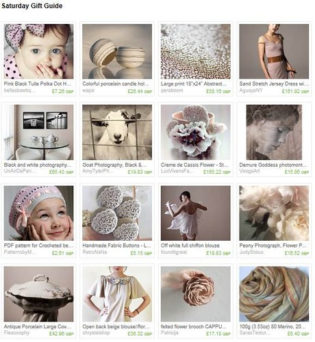 Etsy Treasury Feature: Saturday Picks.