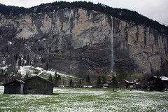 Back to Lauterbrunnen station (Gill'sphotos) Tags: switzerland lauterbrunnen stechelberg