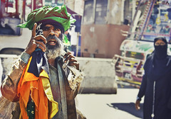 Statement of GOD (Ebtesam Ahmed) Tags: road street pakistan asian day god expression islam religion poor beggar question islamic