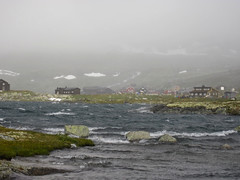 Finse (neil banas) Tags: autumn lake rain norway landscape 2012 scandanavia finse