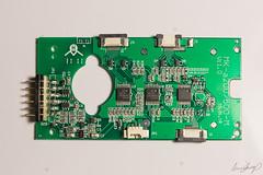 Meike control board (Gregory Kemp Photography) Tags: mod battery hack grip modification meike a55 a550 a580 vgb30am npfm500h vgb50am npfw50