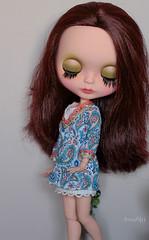 Chloé's eyelids ;-)