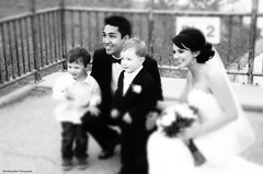 my sister's youngest son got hitched (Rex Montalban) Tags: wedding bw calgary glow alberta tiltshift rexmontalbanphotography