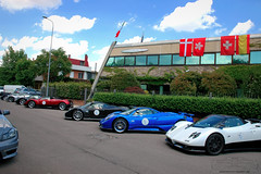 Pagani Zonda C12S 7.3 and S Roadster (Soluz91) Tags: point s f r lh vanishing rs coup cinque evo zonda roadster passione pagani tricolore 760 764 2013 huayra