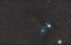 Corona Autralis - NGC 6723 and 6726 (Teva CHENE) Tags: canon astronomy celestron xsi c14 baader 450d pixinsight coronaaustralis starizona hyperstar ngc6726 ngc6723 backyardeos
