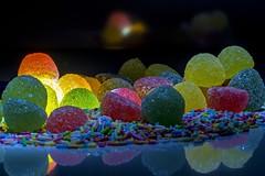 andiamo in brodo di giuggiole? (raptures) (Antonio Iacobelli (Jacobson-2012)) Tags: colors nikon candy sugar led nikkor colori bari jujube caramelle 105mm d600 lightpaint giuggiole