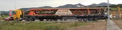 MB Actros 3355 DONIZ / Trayl-Ona + Creter Crane - 01 (CasiLuarca) Tags: españa truck mercedes spain crane asturias mb luarca navia camión casimiro actros 3355 creter specialtransport nooteboom transporteespecial doniz casimiromodels schwerlastzugmaschine casiluarca traylona mbactros3355 cretercrane