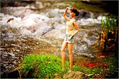 16'' Poppy (summer-sun) Tags: jason fashion outside deutschland photography waterfall doll fotografie hobby teen poppy 16 wu royalty parker summersun