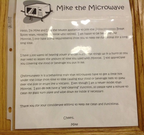 Mike the Microwave