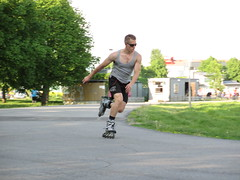 """(Roller) Blade Runner • <a style=""""font-size:0.8em;"""" href=""""http://www.flickr.com/photos/91003404@N02/9214925290/"""" target=""""_blank"""">View on Flickr</a>"""