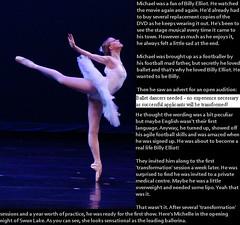 TG caption: Ballerina (Jenni Makepeace) Tags: fetish transformation magic tgirl sissy caption captions mtf tgcaptions tgcaption