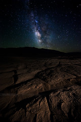 Mission to Mars (Beboy_photographies) Tags: red mars brown rock night way stars death star sand ground astro astrophotography valley planet mission deathvalley milky milkyway