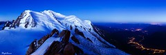 Le Mont Blanc  l'heure bleue (StephAnna :-)) Tags: panorama mountain france alps expo panoramic best bluehour chamonix montblanc aiguilledumidi heurebleue mostsuccessful stephanna mostsuccessfulphoto