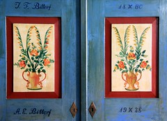 1938 (:Linda:) Tags: flower museum germany painting town handmade name year 1938 thuringia bouquet wardrobe 1860 themar blumenstraus