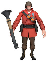 Team Fortress 2 Series 2 Red Team Soldier Deluxe Action Figure (radartoys) Tags: soldier toys actionfigures neca teamfortress ft2 teamfortress2
