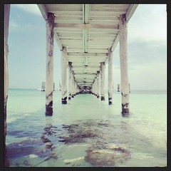 upload (Evafdp) Tags: sea summer square mexico harbor muelle mar squareformat cancun caribbean roo caribe quintana amaro 2013 iphoneography instagramapp