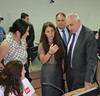 """Public Security Minister of the State of Israel has visited """"112"""" (112 Georgia) Tags: emergency 112 erc response sakartvelo operative 112georgia 112საქართველო"""
