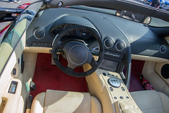 Lamborghini Murcielago LP640 Roadster Interior (CLtotheTL32) Tags: italian exotic v12 leatherinterior italianleather lp640 murcielagoroadster italiansportscar lp640roadster murcielagolp640 lamborghinimurcielagolp640roadster murcielagointerior lp640interior murcielagodashboard