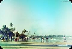 Uma tarde na praia de gaib =) (Eline Cristine) Tags: blue red portr