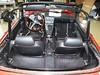 Alfa Romeo Spider Fastback Montage mit gesandstrahltem und pulverbeschichtetem Gestänge
