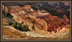 Cedar Breaks NP (the Gallopping Geezer 2.8 million + views....) Tags: park nature canon landscape utah scenery view natural scenic national np redrock 2008 geezer splendor cedarbreaks tonemap