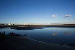 Fiddlers Ferry (juliereynoldsphotography) Tags: sunset ferry clouds reflections twilight julie mersey fiddlers reynolds fiddlersferry rivermersey juliereynolds juliereynoldsphotography