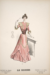 Daydou Fils, Paris. A Collection of Fashion Plates of the Late 1890s. ca 1890. (Toronto Public Library Special Collections) Tags: fashion 19thcentury 1910s 1900s 1890s labelleépoque