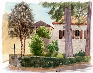 croix des vignes à Cels