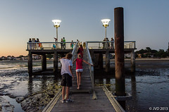 Sunset in Andernos-les-Bains (JoeyCrazy) Tags: sunset bluehour arcachon nachtfoto andernoslesbains