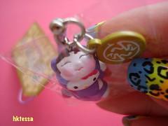 Hello Kitty Fujikyu Highland Eejanaika roller coaster limited strap-2008. (HKTESSA) Tags: cute japan toy tokyo hellokitty kitty charm sanrio mascot collection kawaii strap figurine netsuke fastener gotochikitty  gotochi