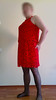 red_set_003 (nullyfemme) Tags: red dress panty stocking crossdresser crossdress slips gatherbelt