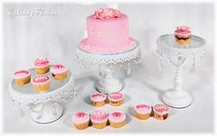 Emilia's Baby Shower Cake (Andreea Cota) Tags: pink cake cupcakes babygirl birthdaycake caketopper babyshower pinkcake christeningcake babyshowercake babyshowercupcakes pinkcupcakes sugarflower babygirlcake pinkbirthdaycake cupcakewithflowers pinkbabyshowercake fondantflower fondantbaby babycaketopper pinkcaketopper
