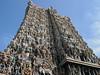 IMG_9728ac Meenakshi Sundareshwarar Hindu Temple Gopuram (pfjc&pfjc2) Tags: india hindutemple southindia gopurams tamilnadustate godshiva maduraitown goddessmeenakshi dravidianstyle meenakshisundareshwarartemple 200411trip parvatiavatar
