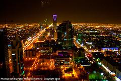 Riyadh 2013 (peterdomantay) Tags: city tower buildings king peter saudi arabia overlooking riyadh fahad ksa alfaisaliyah olaya faisaliah domantay