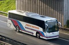 KX09 CGU (Cammies Transport Photography) Tags: bus volvo coach edinburgh prentice westwood panther newbridge flyover m9 plaxton of kx09cgu
