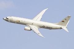 168956_P-8APoseidon_USNavy_DWC_NoGearEDIT [Explored] (Tony Osborne - Rotorfocus) Tags: world dubai united central navy airshow states boeing poseidon dwc 737800 p8 2013 p8a