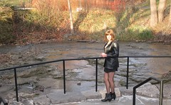 Late Fall In Niagara Falls (MarcieGurl) Tags: crossdressing tgirl crossdresser marciegurl